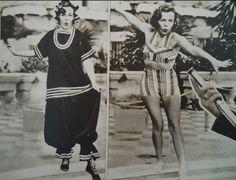 Cluj-Napoca ladies during interwar period chanelling sporwear #vintage #sportswear #style #clujnapoca #romania