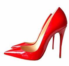 Rote untere Absatz-Marke-echtes Leder-Frauen-Pumpen Zehe-Absatz-Schuh-Frauen Größen 35 -38,5 Rote (35)