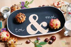 Plateau pour les amoureux. A tray for You & Me!