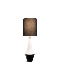 because occasionally you need a little backup to light up the room. this grosgrain-textured table lamp, both elegant and bold, does nicely.