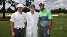 Rory, Niall, and Tiger Woods.
