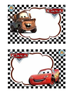 Gafetes Source by Disney Cars Party, Disney Cars Birthday, Cars Birthday Parties, Christening Decorations, Lightening Mcqueen, Leo Birthday, School Labels, Car Themes, Free Cars