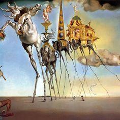 Si c'est quelque chose que vous avez vu la nuit dernière sous acide, alors c'est Salvator Dali.