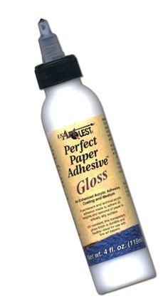 Adhesive Perfect Paper Artquest Gloss 4 www.customquilling.com