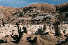 Drumheller and the Hoodoos that we climbed to the top of!