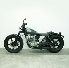 CB 250 by Mad Crow Garage