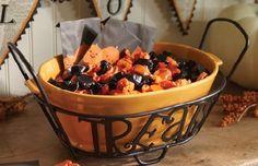 Longaberger Wrought Iron Treats Holder and Orange Treat Bowl Set |