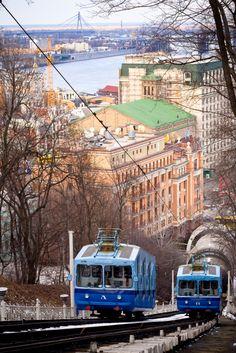 The Trams of Kiev, Ukraine