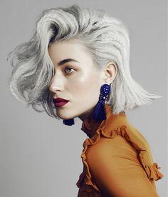 Laurent Decreton Short Grey Hairstyles