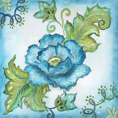 RB6199TS <br> China Blue Tile I <br> 12x12