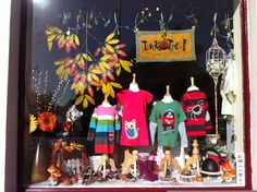 Style #totsbots #picaday  FRUGI window display clothes for cloth bums