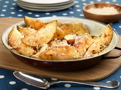 Italian-Style Skillet Potatoes recipe from Rachael Ray via Food Network