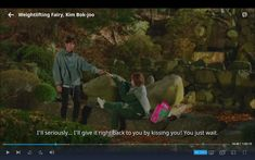 Bok Joo, Weightlifting Fairy, Kiss You, Painting, Painting Art, Paintings, Painted Canvas, Drawings
