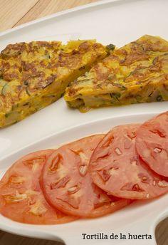 Receta de Tortilla de la huerta - Karlos Arguiñano Kitchen Stories, Entrees, Steak, Bacon, Breakfast, Tortilla, Food, Home, Torte Recipe