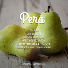 #Peras #Salud #Nutrición #PlaceresOrgánicos