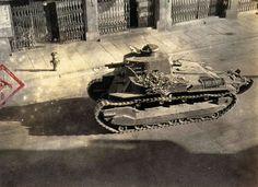 "Type 89B ""I-Go Otsu ""на улице  Шанхая \  Type 89B "" I-Go Otsu"" on the streets of Shanghai   WW II"