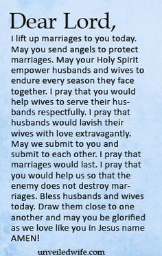 Prayer Of The Day – Protecting Marriage --- Dear Lord, I lift up marriages to… Marriage Prayer, Happy Marriage, Marriage Advice, Love And Marriage, Biblical Marriage, Healthy Marriage, Healthy Relationships, Prayer For The Day, My Prayer
