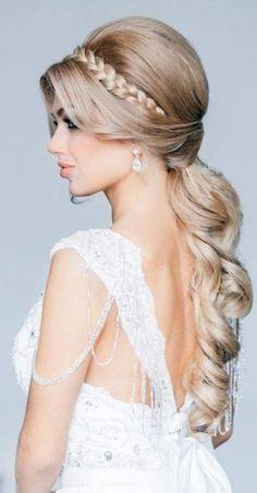 Elegant Wedding Bridal Hairstyles   Bridal hairstyle!