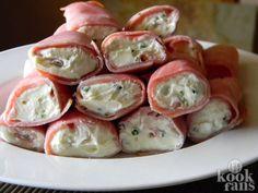 Deze monchourolletjes zijn perfect als avondsnack, supermakkelijk!