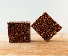 Cuckoo for Choco-nut Puffed Millet Squares