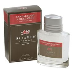 St James of London Sandalwood  Bergamot Post Shave Gel Home -- Find out more about the great product at the image link.