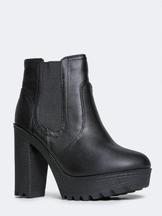 Stay Trendy! Shop the cutest Chelsea booties at the Zoo~ FREE Shipping Always! #zooshoo #booties #shoes #boots #fashion #sale