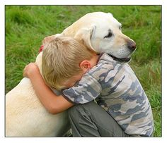 """Every boy should have two things: a dog, and a mother willing to let him have one"" - Anonymous"