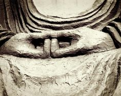 Black and White Photography  Buddha Hands  by LupenGrainne on Etsy, $30.00