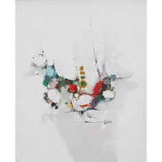 Lubna Latif Agha 1949-2012 Pakistani/American, Abstract. Lubna Latif Agha 1949-2012 Pakistani/American, Abstract. 36 x 30 ins., (91.5 x 76 cms.), Oil on Canvas, Signed. Lubna painted a 'white series' in the earlier part of her career producing some of the most quietly beautiful abstracts I have seen. This painting is a good example.