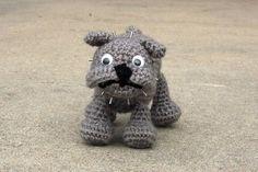 Dog Bulldog Free Amigurumi Pattern http://www.craftster.org/forum/index.php?topic=330571.0#axzz2xbfEqF12