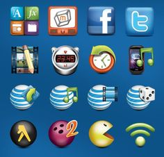 60 Sets of Free Social Networking Icons