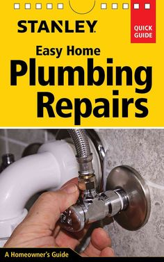 Easy Home Plumbing Repairs is a concise, highly visual ready reference to the most common plumbing repairs that homeowners might tackle themselves. The projects include everything from clearing a clog