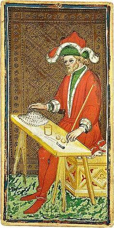 The Visconti-Sfortza Tarot, The Magician