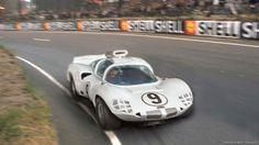 24 heures du Mans 1966 - Chaparral 2D #9 - Pilotes : Phil Hill / Jo Bonnier - Abandon