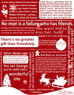 It's a Wonderful Life quotes.