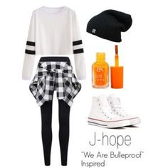 """J-hope """"We Are Bulletproof"""" Inspired Outfit"""
