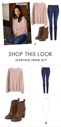 """Mariana from The Fosters Inspired"" by katethibodeaux ❤ liked on Polyvore featuring H&M, Salsa, Dorothy Perkins and katesturtleteam"