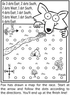 Geography: This is a good introduction lesson that I would use to explain the basic use of a compass. Students will understand the four cardinal directions through this activity. Cub Scout Activities, Social Studies Activities, Teaching Social Studies, Student Teaching, Learning Activities, Kids Learning, Map Activities, Compass Rose Activities, Kindergarten Social Studies