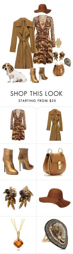 """Keeping Her Options Open"" by blujay1126 ❤ liked on Polyvore featuring Diane Von Furstenberg, MaxMara, Ines Della Rovere London, Chloé, Dorothy Perkins, Frederic Sage, Allurez and Citizen"