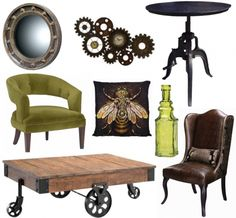 steampunk home interior | Steampunk-inspired home decor | Offbeat Home