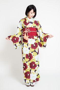 【楽天市場】[あす楽対応] お仕立て上がり プレタ着物 レディース 11種類 094-668 【 kimono M L サイズ対応 袷 洗える着物 ポリエステル アイロン OK カジュアル おしゃれ かわいい お洒落着 きもの レディース 女性用 送料無料 】:TAYU-TAFU