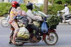 bringing home the groceries, Remeber when we used to do this?