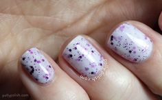 piCture pOlish 'Mega Sandwich' Gene Doll, White Wedding, Pink Shimmer (disc) by Polly Polish!  So pretty!