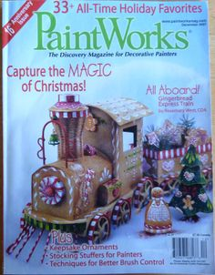 PaintWorks Magazine / December 2007 / Assorted Christmas Tole Painting Patterns