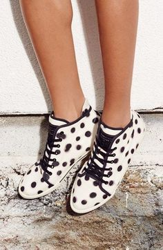 Polka Dot High Top Sneaker   Marc by Marc Jacobs
