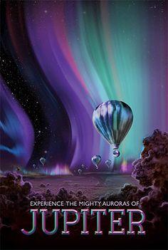 Jupiter - JPL Travel Poster