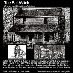 The True Story Of The Bell Witch Hauntings | The Fortean Slip