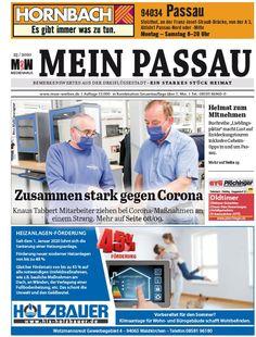 Die Dreiflüssestadt-Zeitung Content, Passau, River, Newspaper, City