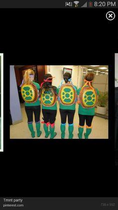 Teenage mutant ninja turtle costume for girls