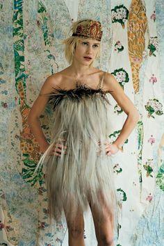 Vogue crown feathers #brilliant